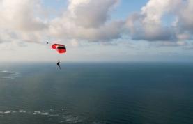 Jay Alvarrez Canopy Gliding